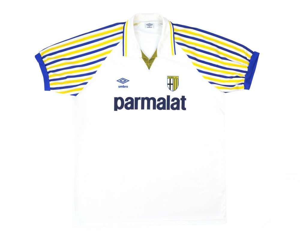 Image of 1990-91 Umbro Parma Home Shirt L & XL