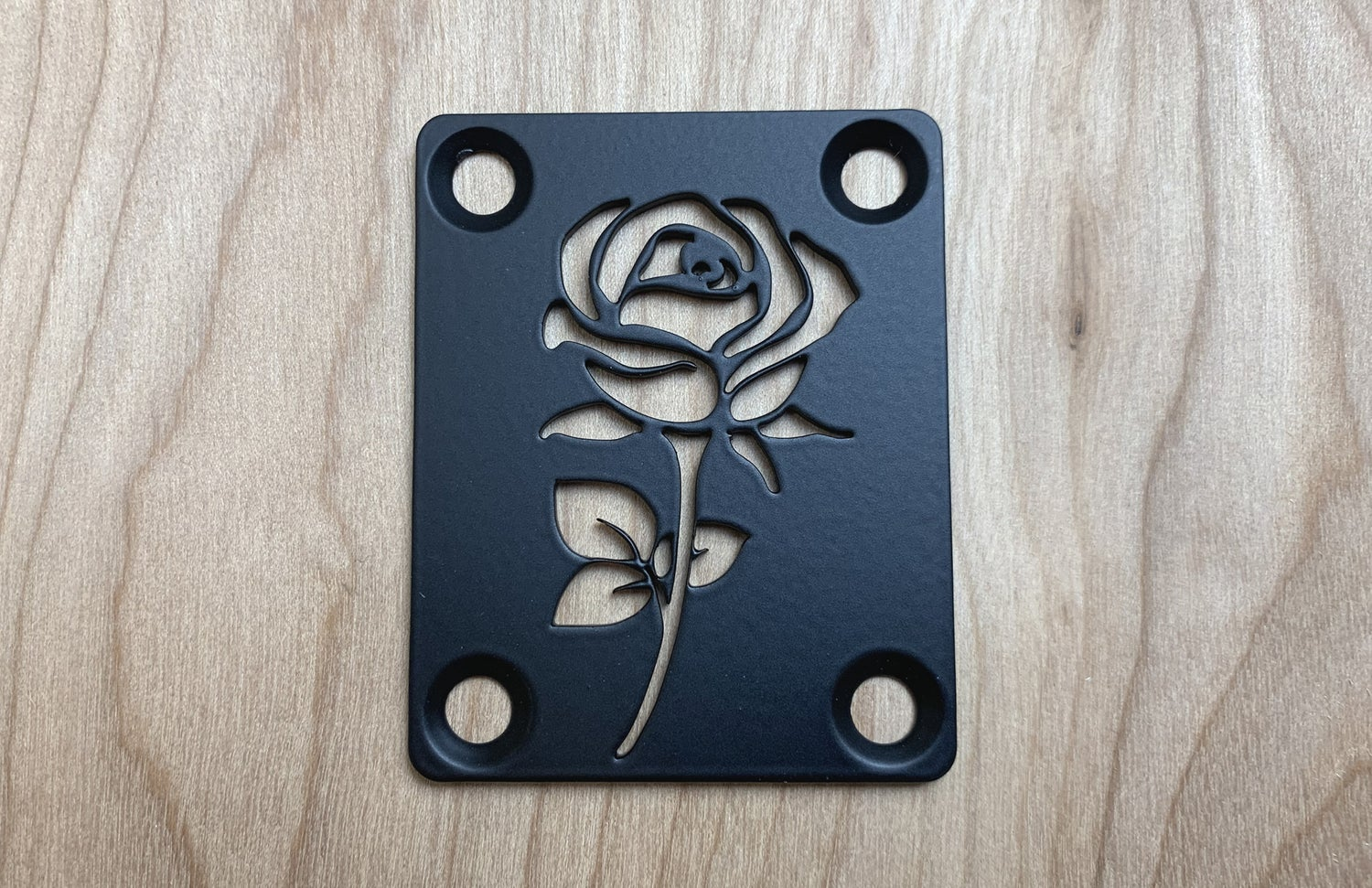Image of Rose - Industrial Black Finish
