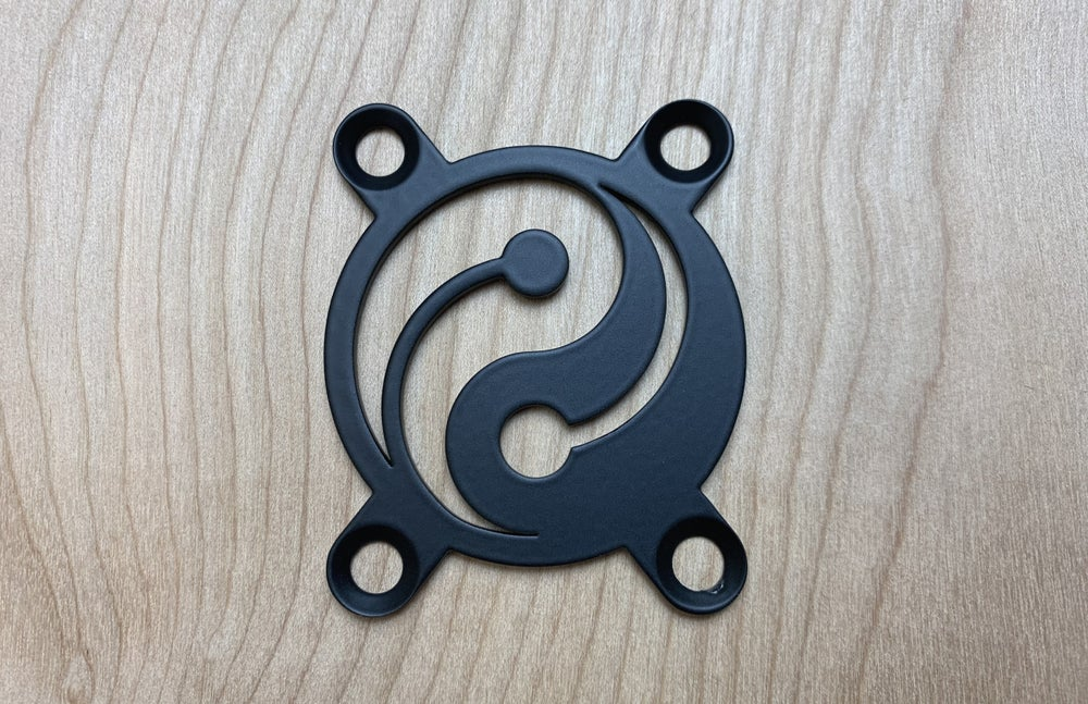 Image of Yin Yang - Industrial Black Finish