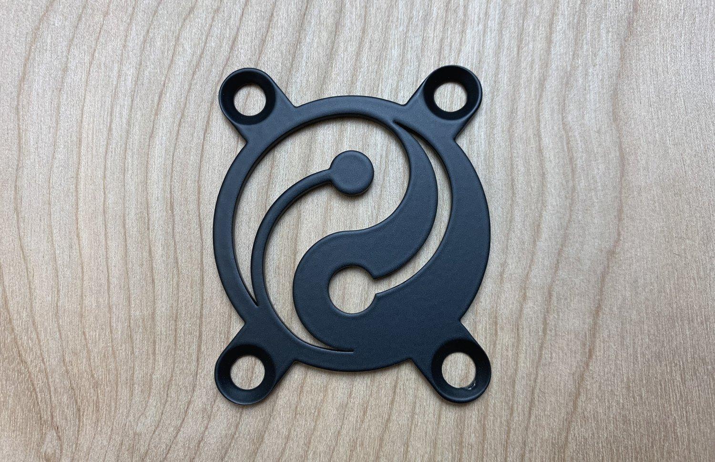 Image of Yin Yang - Industrial Black Finish