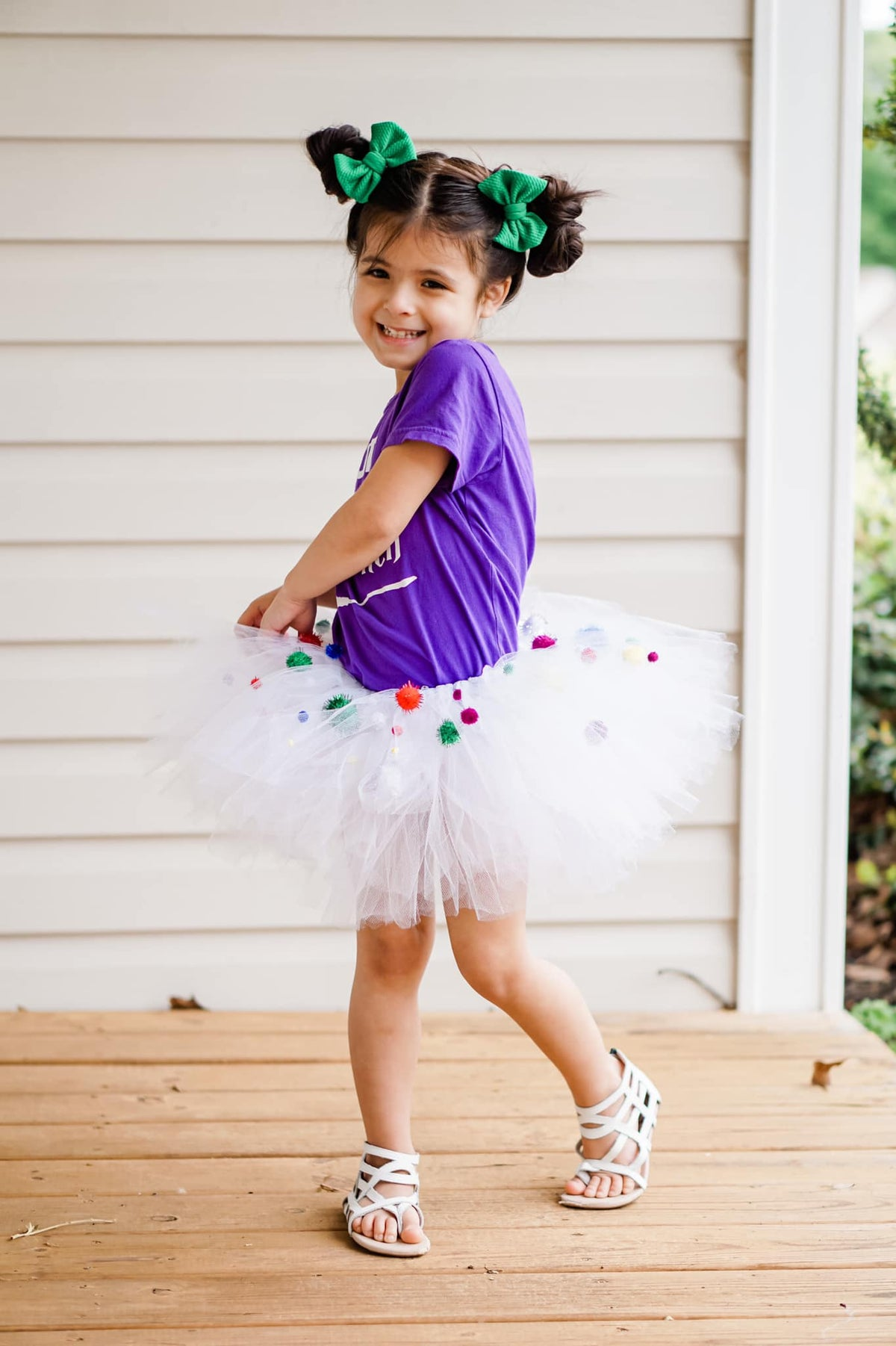 Image of Pastels & Rainbows Poms Tutu