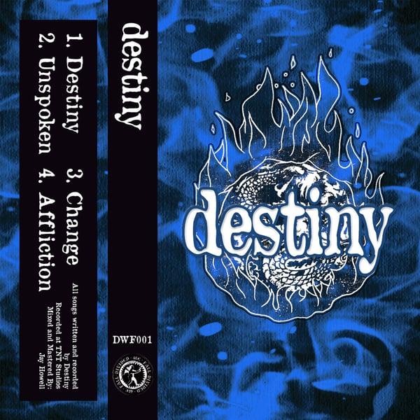 Image of Destiny 'Demo 2020' Cassette Tape