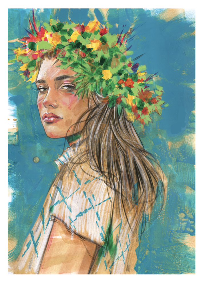 Image of SUMMER SIGNED PRINT