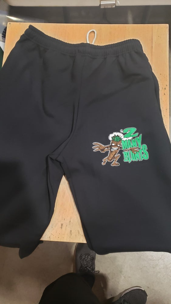 Image of 2 MANY BLUNTS SWEAT PANTS WITH POCKETS (IN STOCK)