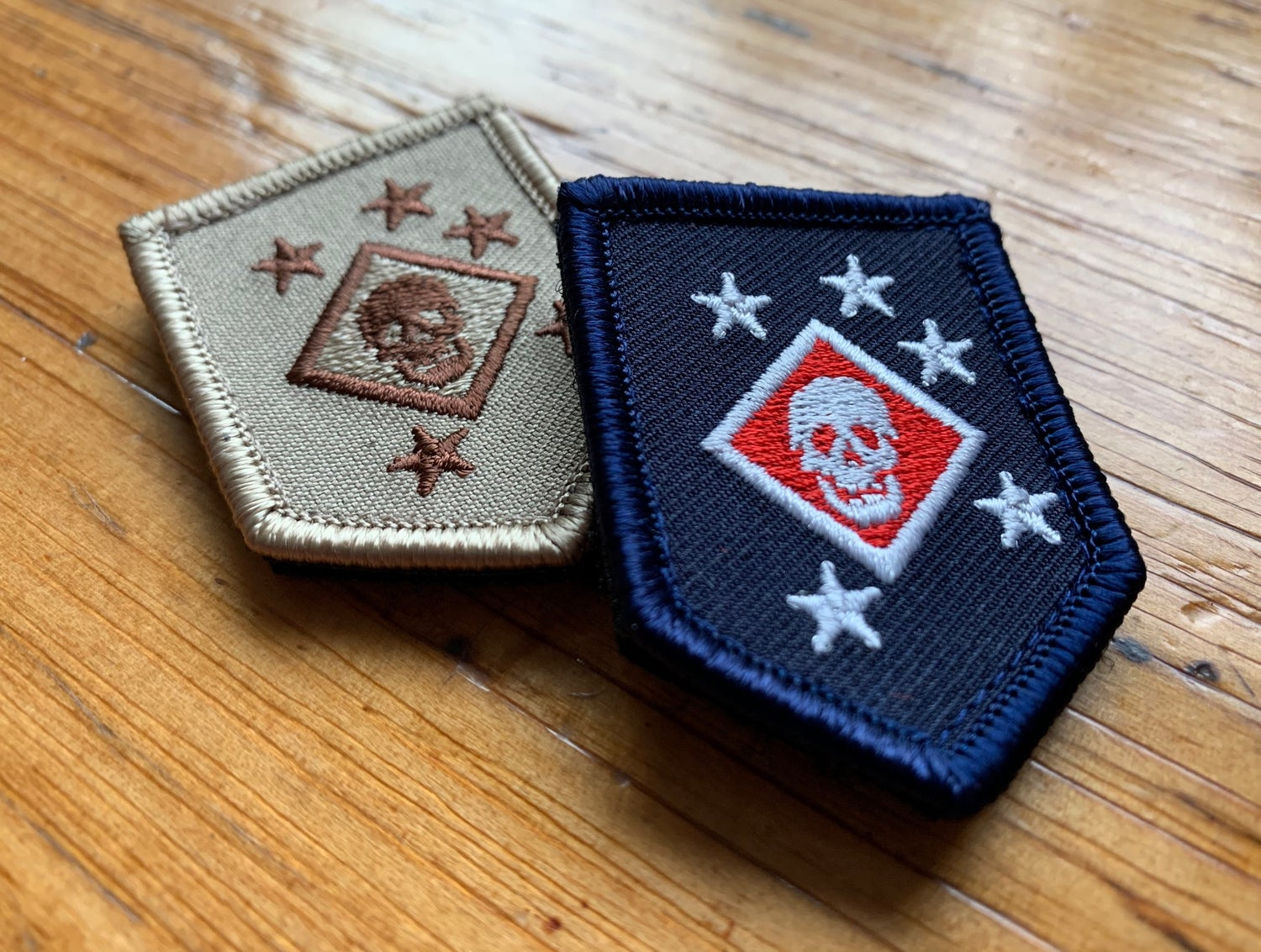 Image of Medium Embroidered Raider Patch