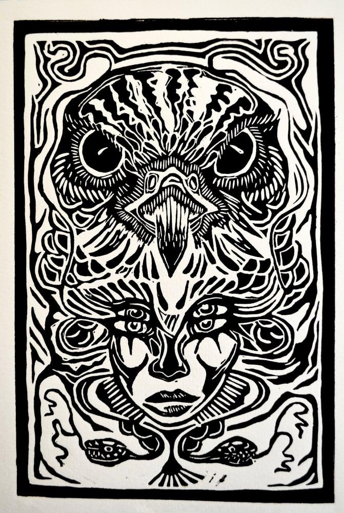 Image of Elele's sight • Original print