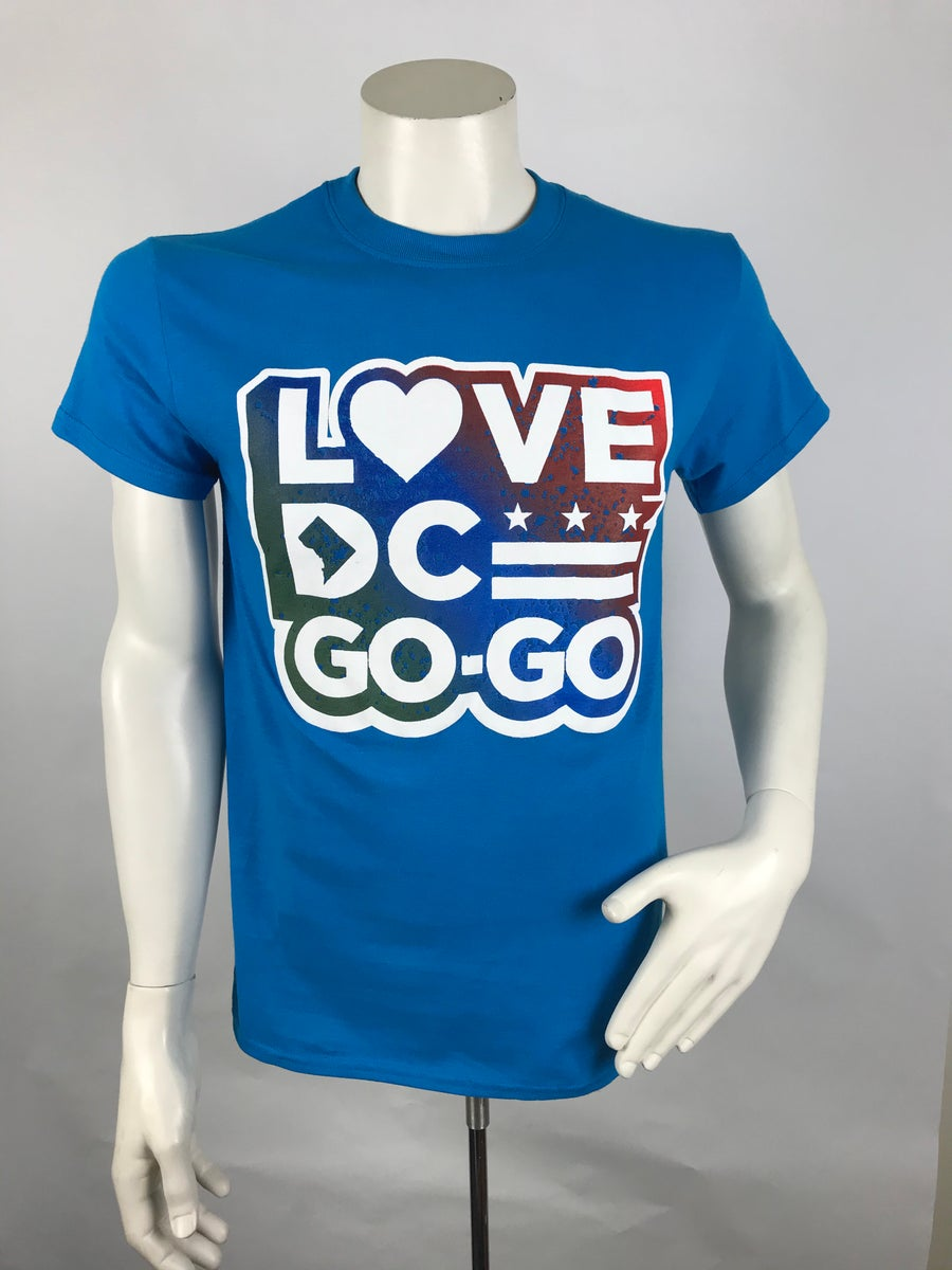"Image of Blue Love DC GoGo ""Shell"" - T"