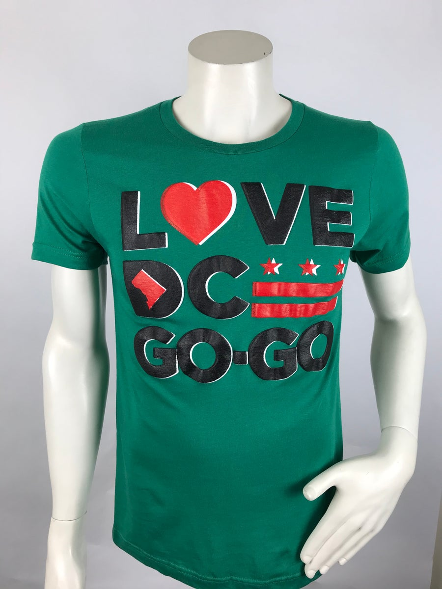 "Image of Green Love DC GoGo ""Carter Baron"" - T"