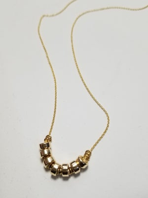 Image of roundel bead necklace