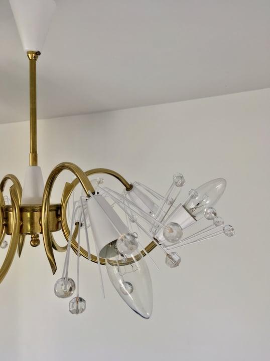 "Image of 22"" 8-Light Emil Stejnar Chandelier, Austria"