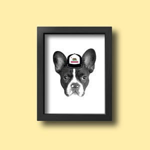 Image of *NEW* Custom Pet Art - Pet Portrait - Custom Pet Greeting Cards