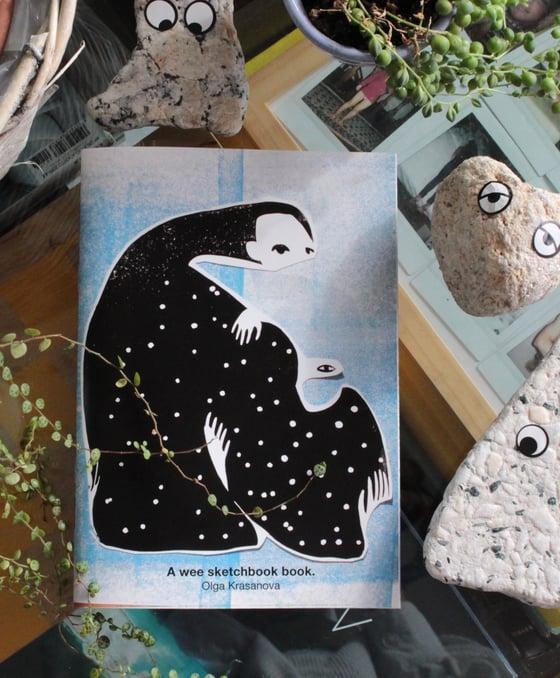 Image of A Wee Sketchbook Book.