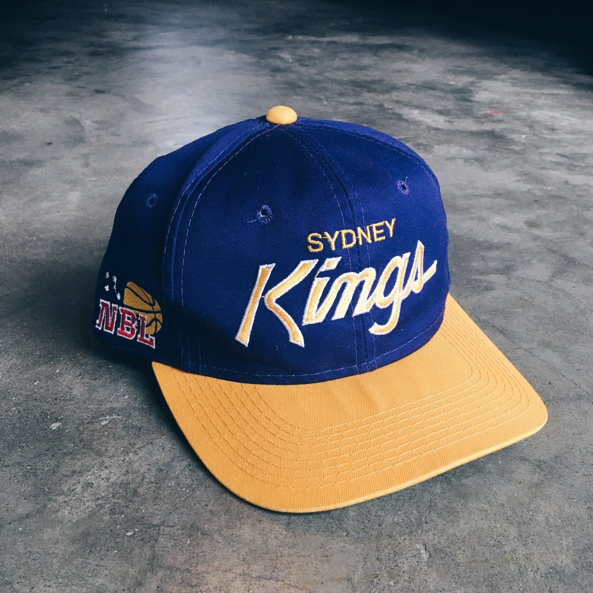 Image of Original 90's Sports Specialties Sydney Kong's Snapback Hat.