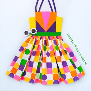Image of Geometry Sundress no. 2 - sz 7