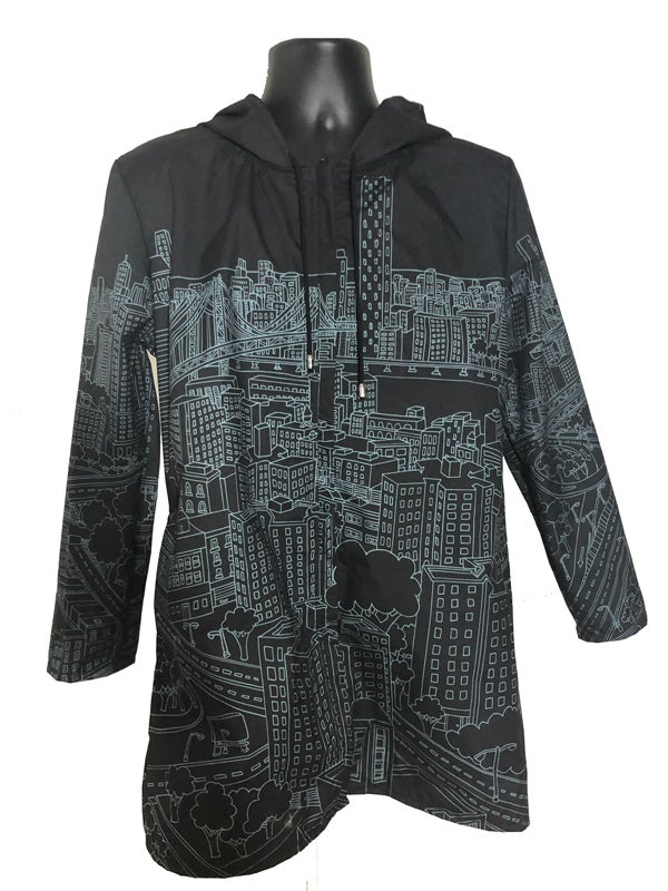 Image of Ashes57 Rain Coat