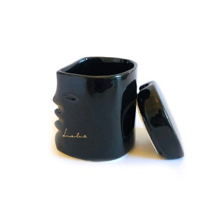 """Image of """"Liebe"""" Ceramic Face Container"""
