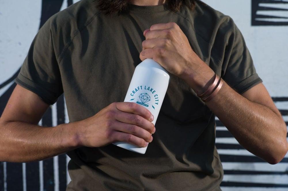 Image of Craft lake City Diamond Water Bottle