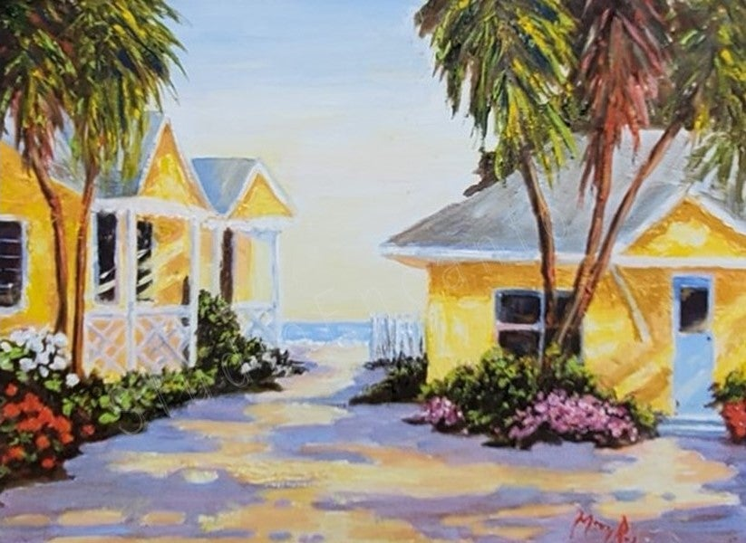 Image of Sunshine Cottages by Mary Rose Holmes