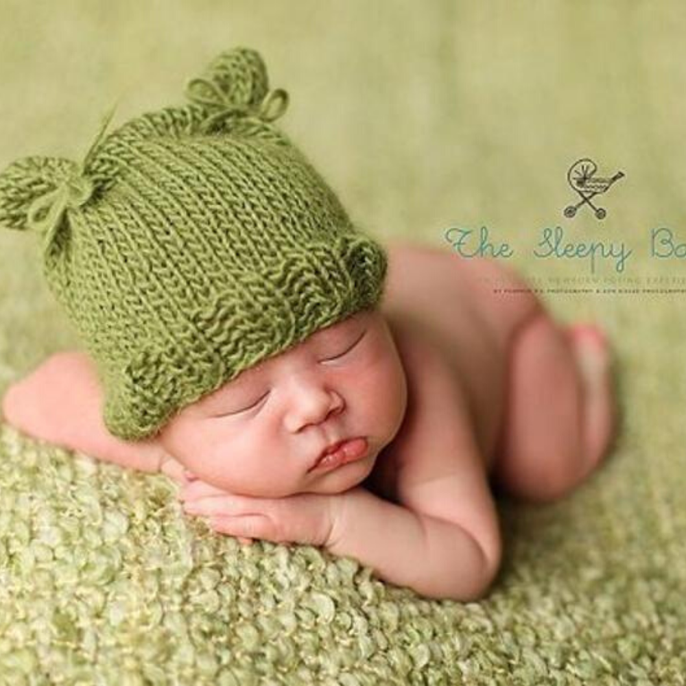 Image of Lil' Cub Beanie Knitting Pattern PDF Download
