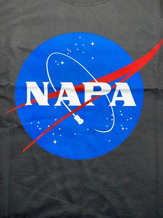 Image of NAPA CORK COMET MEATBALL LOGO SHORT SLEEVE T