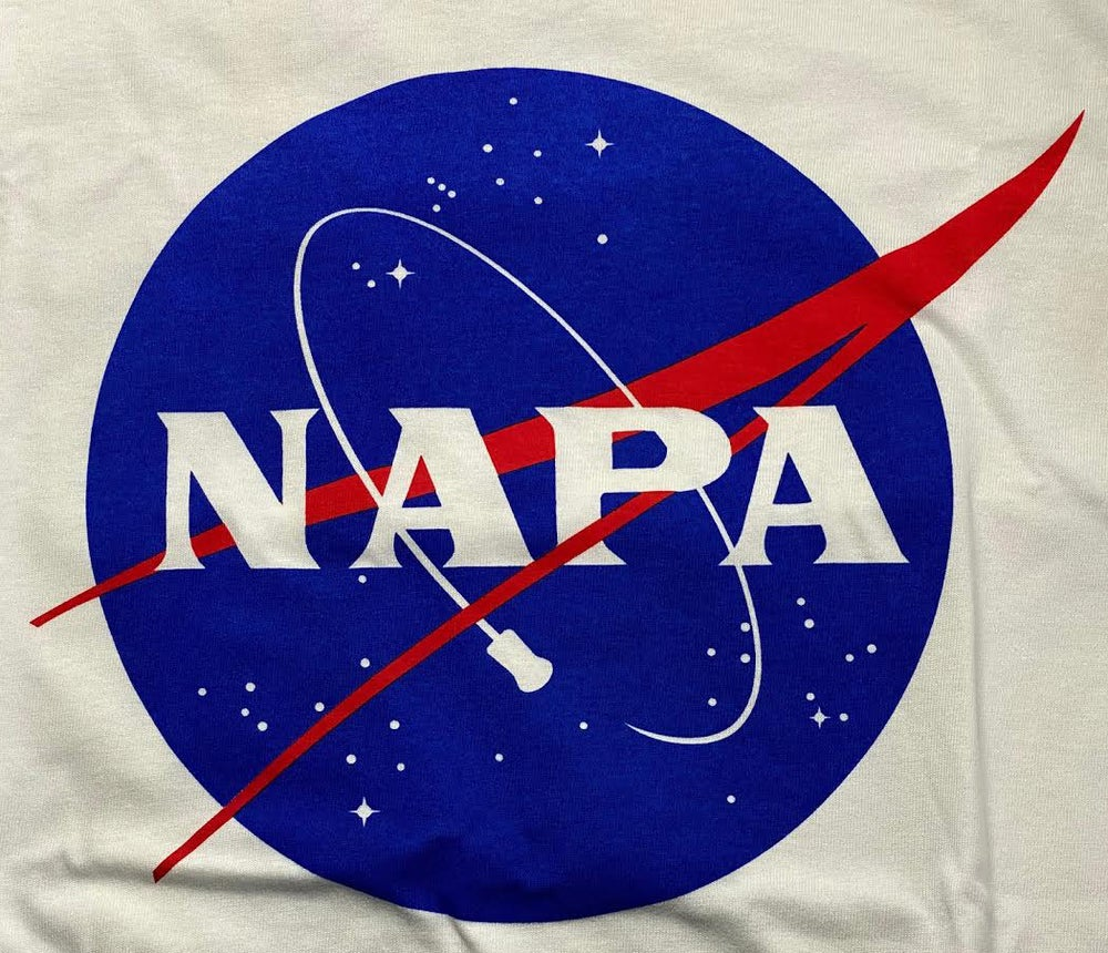 Image of NAPA CORK COMET MEATBALL LOGO SHORT SLEEVE T