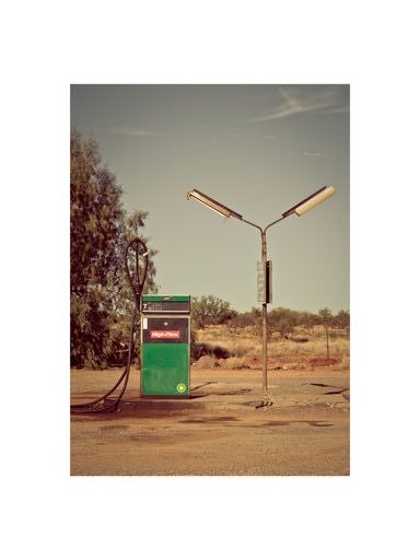 Image of PHOTO - PETROL STATION