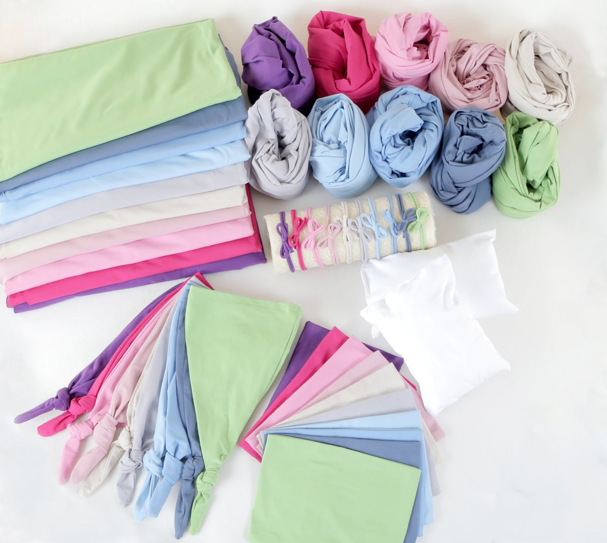 10 Stretchy Jersey Cotton Sets (5 pieces)