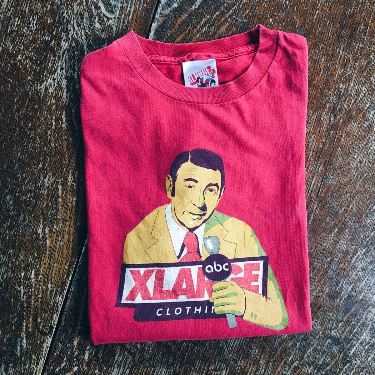 Image of Original 90's XLARGE Howard Costell Tee.