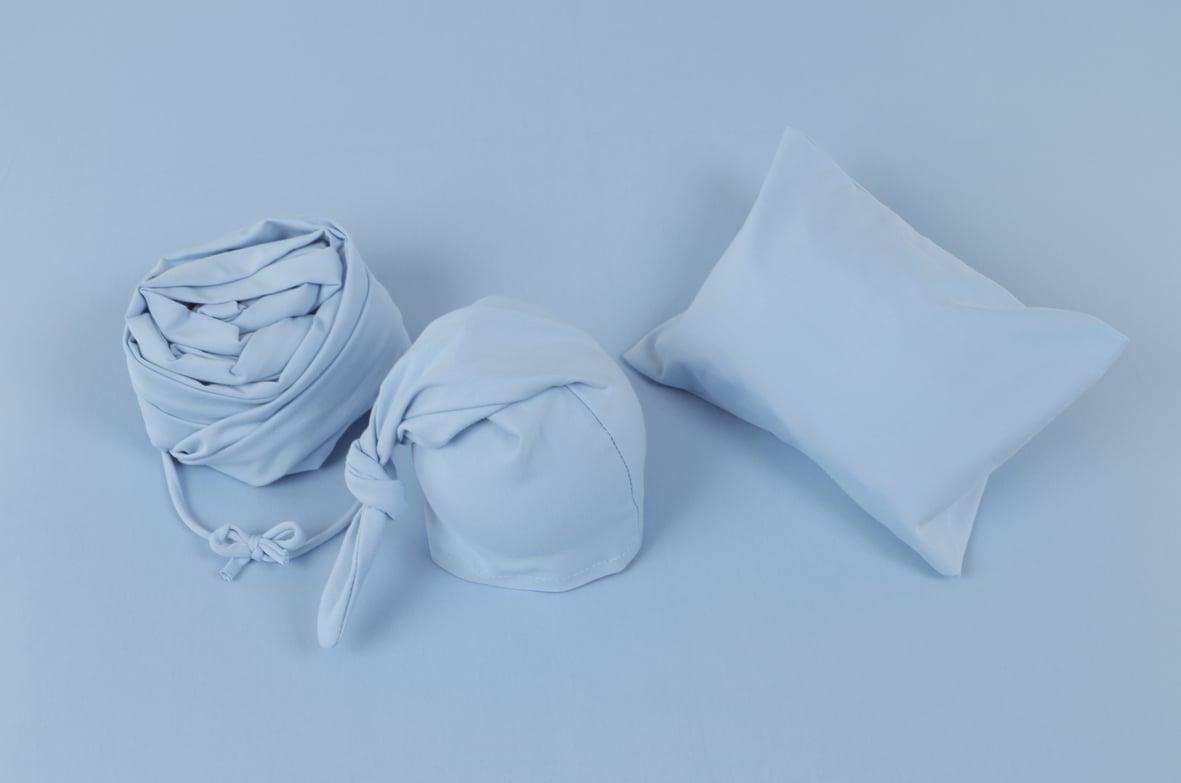 LIGHT BLUE Stretchy Jersey Cotton Set (5 pieces)