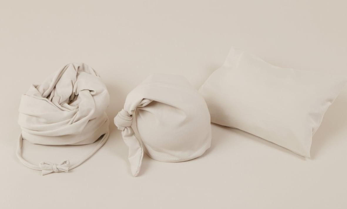 BEIGE Stretchy Jersey Cotton Set (5 pieces)