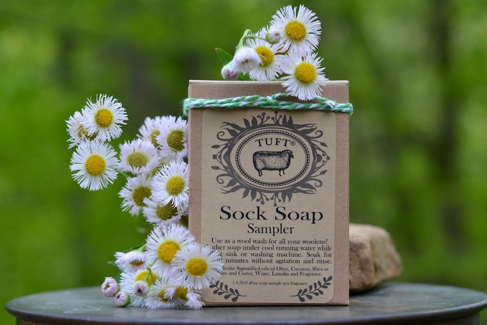 Image of NEW! Springtime Sock Soap Sampler