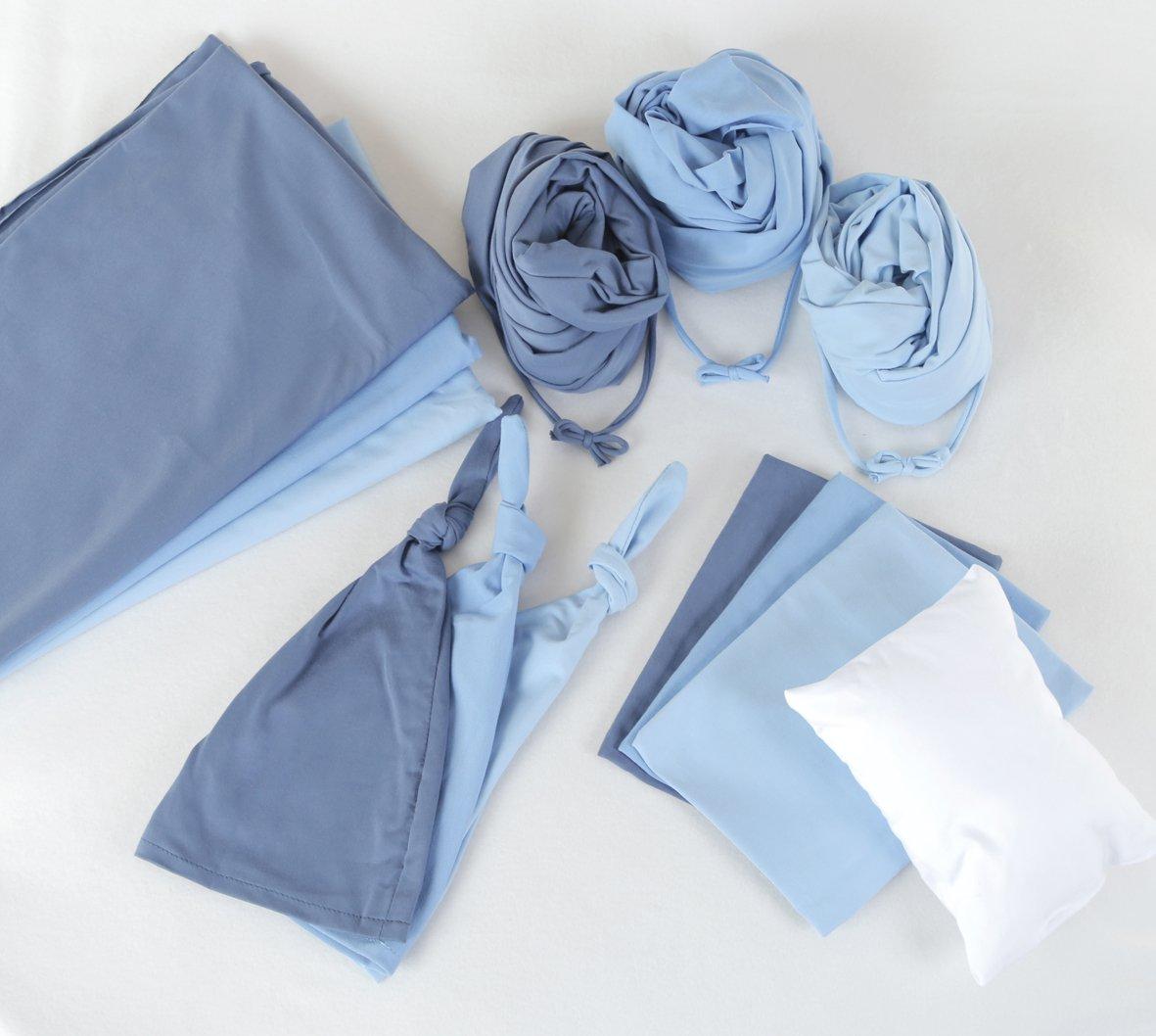 BOY NEWBORN Stretchy Jersey Cotton Sets (5 pieces)