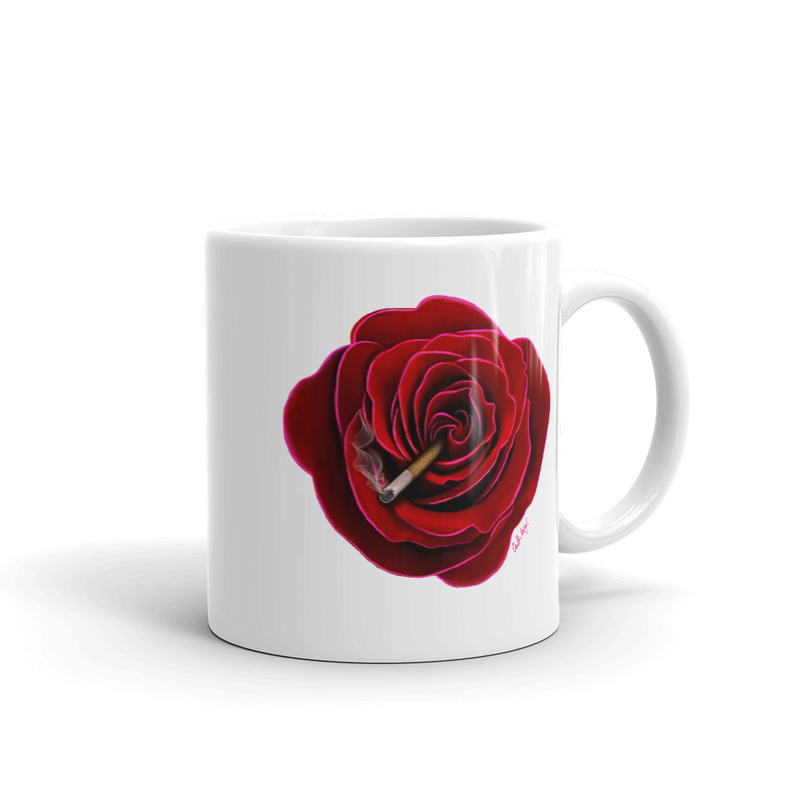 Image of Coming Up Roses MUG