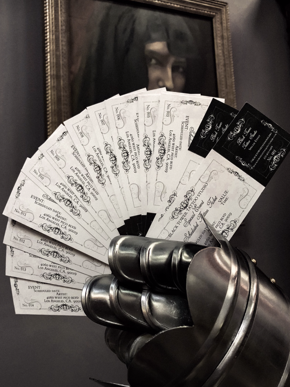 Image of TATTOO TICKETS