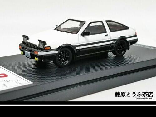 Image of 1:64 Toyota Sprinter Trueno AE86 Diecast Model Car