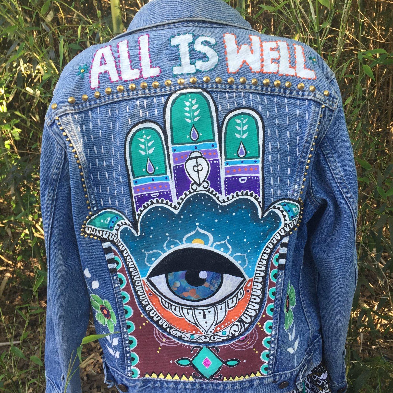 Image of ALL IS WELL~ Hamsa Jacket