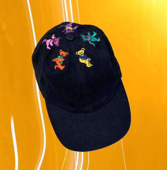 Image of Grateful Dead Original 1990's Vintage Bears Cap!!