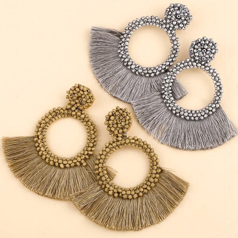 Image of Beaded Tassels