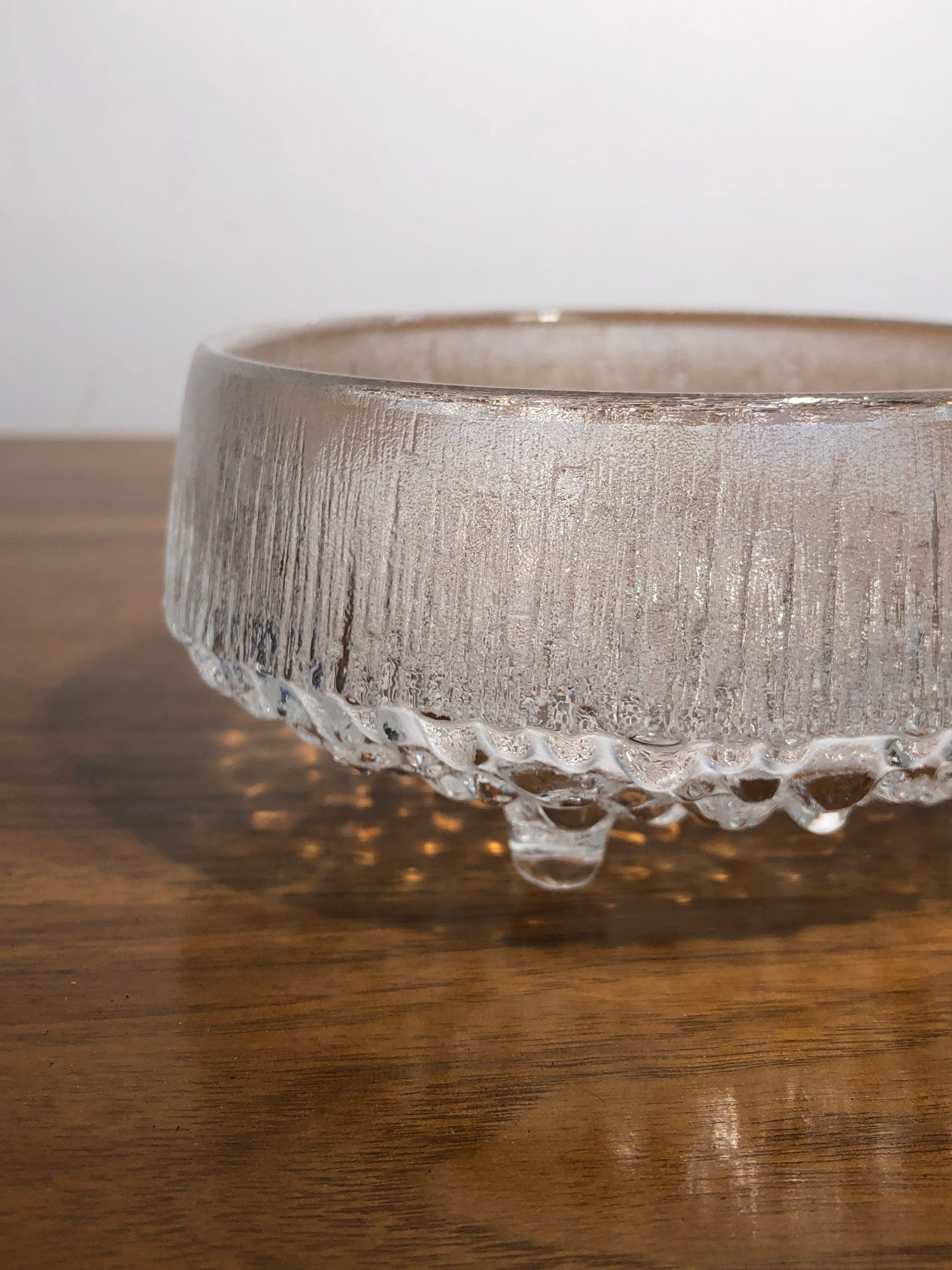 Image of Tapio Wirkkala Glass Dish for Littala