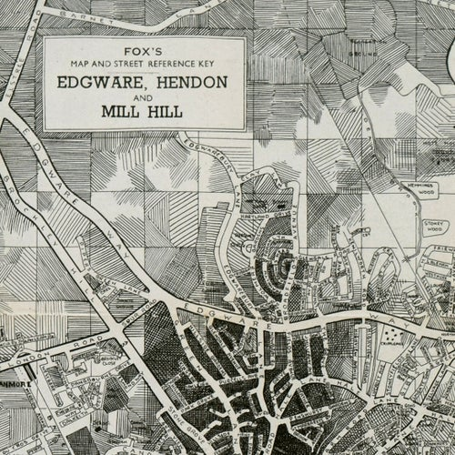 Image of Edgware, Hendon and Mill Hill Limited Print