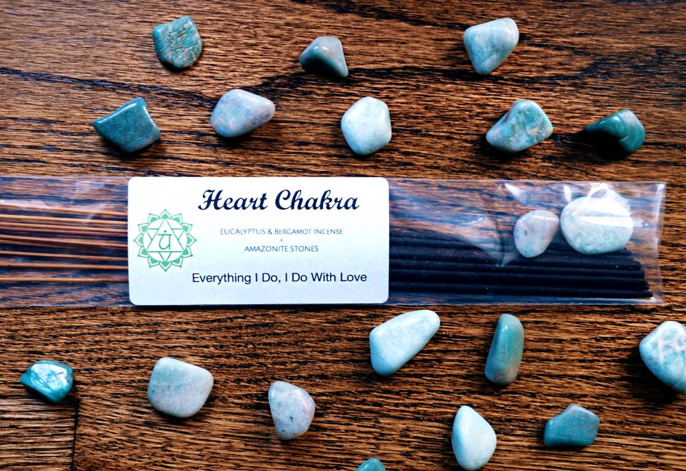 Image of Heart Chakra Incense Set