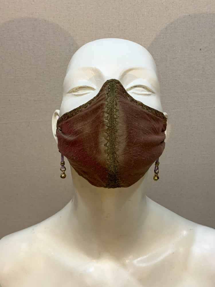 Image of Couture  Mask: Golden Mauve