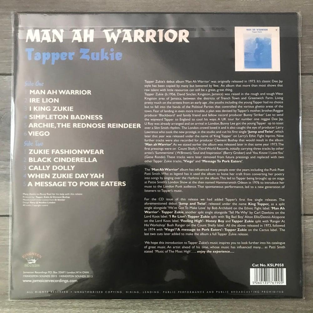 Image of Tappa Zukie - Man A Warrior Vinyl LP