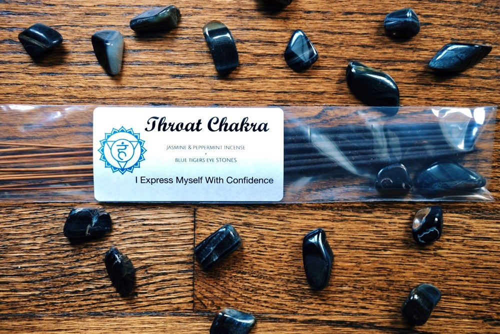 Image of Throat Chakra Incense Set