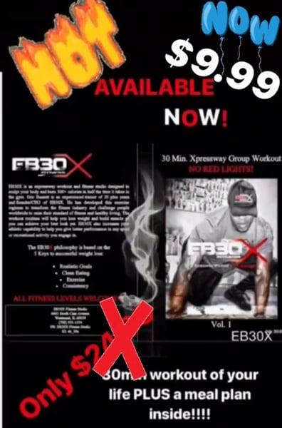 Image of EB30X 30 min. Xpressway Group Workout DVD