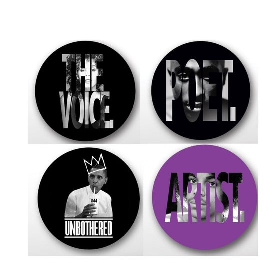 Image of The Defiant Ones Button Pack