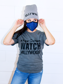 Image 3 of Stay Home Watch Hillywood Tee