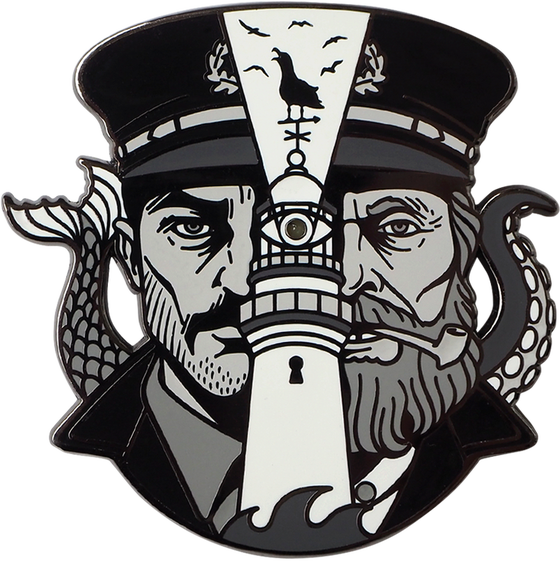 Image of NUTTY SAILORS LED PIN *PRE-ORDER*