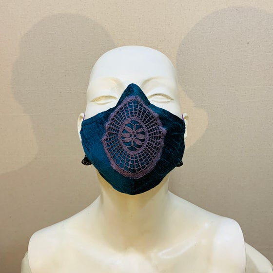 Image of Couture Mask: Violet Sky