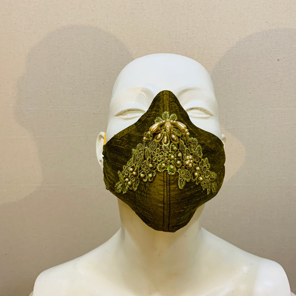 Image of Couture  Mask: Spring Green